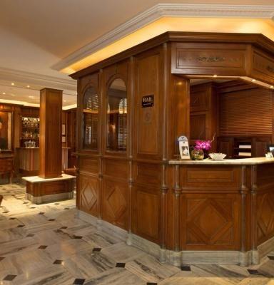 BEST WESTERN PREMIER Hôtel Trocadéro la Tour – Rezeption