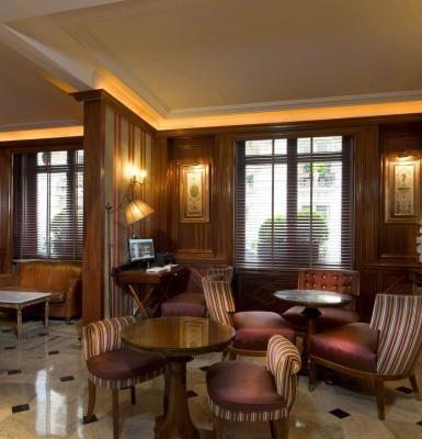 Hotel Trocadero La Tour - Lounge in Paris hotel
