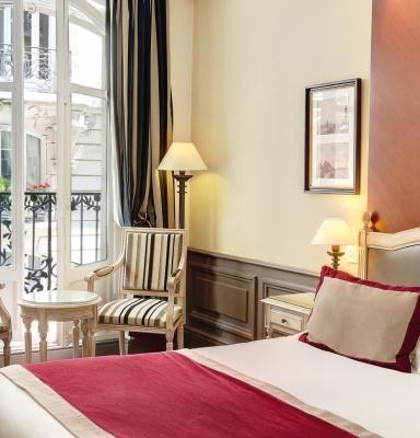 Hotel Trocadero La Tour Paris - Room detail